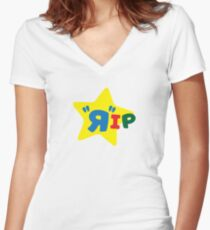 Toys Were Us Fitted V-Neck T-Shirt