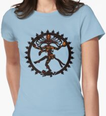 shiva indian god Hindu Womens Fitted T-Shirt