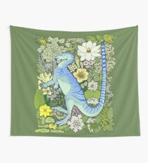 Flower Dance Wall Tapestry