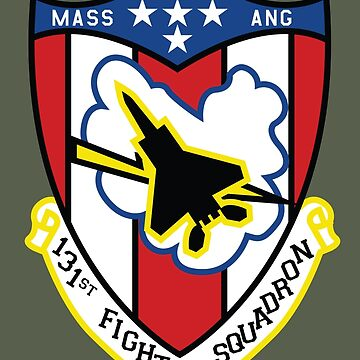 131st Fighter Squadron Emblem ( F-15 ) by warbirdwear