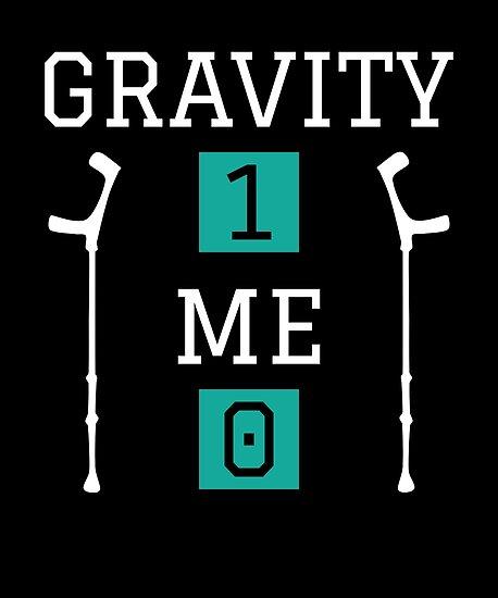 funny gravity 1 me 0 shirt get well soon gift women men kids