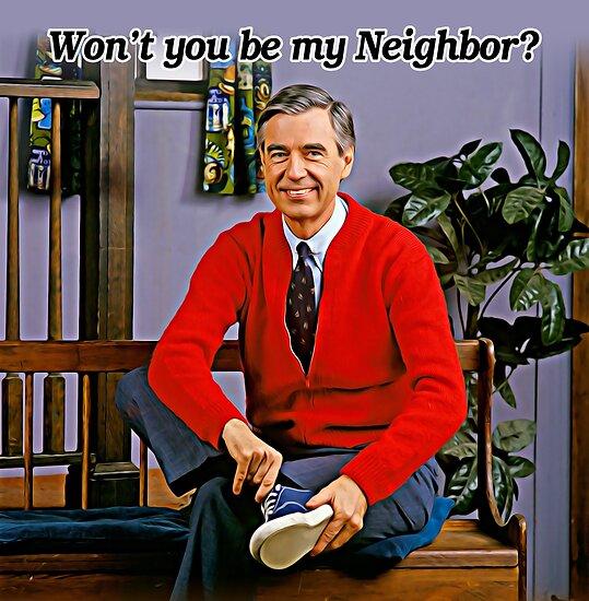 Ich bin nicht mein Nachbar - Mr. Rogers von fixedgearnyc