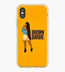 Brown Barbie iPhone Case