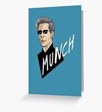 """Munch"" Greeting Card"