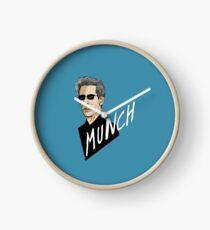 """Munch"" Clock"