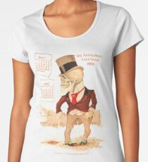 The Antikamnia Calender 1900 Women's Premium T-Shirt