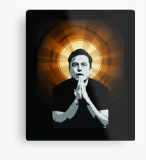 In Elon Musk We Trust Metal Print