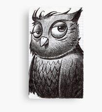 Owl O'brian Canvas Print