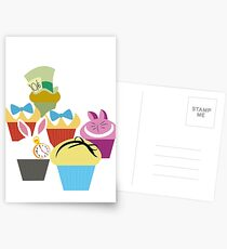 Wonderland's Cupcakes Postcards