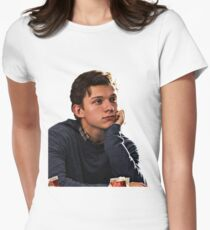 tom holland  Women's Fitted T-Shirt
