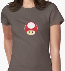 Super Mario - Super Mushroom Womens Fitted T-Shirt