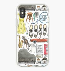 La La Land Illustration Jazz Saxophone Music Musical  iPhone Case