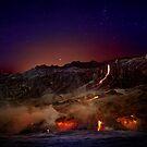 Kilauea Volcano Lava Flow. 6 by Alex Preiss