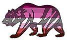Lesbian Pride Bear! by Sun Dog Montana