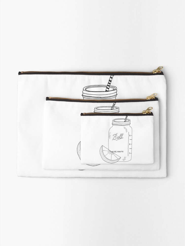Alternative Ansicht von Zitrone + Einmachglas Täschchen