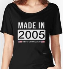 Made In 2005 Limited Edition Legend - Birthday Gift For D.O.B  2005 Born In  2005 Women's Relaxed Fit T-Shirt