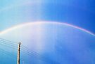 pink rainbow.... blue version by Juilee  Pryor