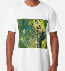 Antibody Abstract Acrylic Painting Long T-Shirt
