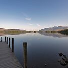 Derwent Water Jetty and Skiddaw by derekbeattie