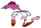 Great Lakes Lesbian Pride! by Sun Dog Montana