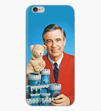 Mr. Rogers und Daniel Striped Tiger Illustrated iPhone-Hülle & Cover