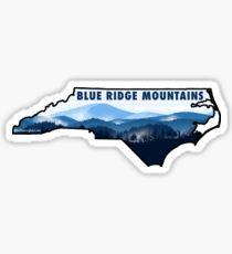 Pegatina Blue Ridge Carolina del Norte
