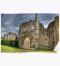 Kirkham Abbey   -  North Yorkshire Poster