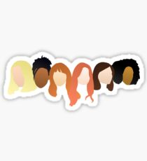 Doctor Who Companions Sticker