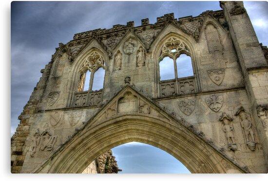 Kirkham Abbey   -  North Yorkshire by Trevor Kersley