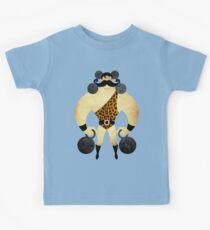 Starker Mann Kinder T-Shirt