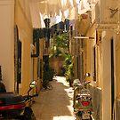 Moped Alley by Hazel Dean