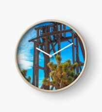 Mining Equipment in Goldfield Nevada Clock