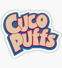 CUCOPUFFS Sticker