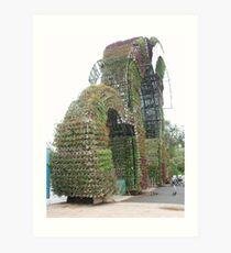 Dalat Gardens Art Print