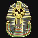 Skull Pharaoh by Alan Funk