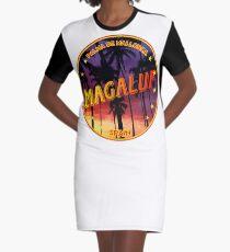 Magaluf, Magaluf t shirt, Magaluf sticker, Spain, with palmtrees Graphic T-Shirt Dress