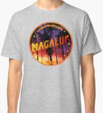 Magaluf, Magaluf t shirt, Magaluf sticker, Spain, with palmtrees Classic T-Shirt