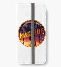 Magaluf, Magaluf t shirt, Magaluf sticker, Spain, with palmtrees iPhone Wallet/Case/Skin