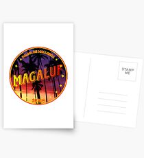 Magaluf, Magaluf t shirt, Magaluf sticker, Spain, with palmtrees Postcards