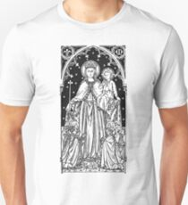 Child Jesus and Mary Slim Fit T-Shirt