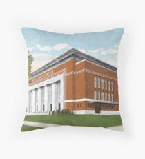 Hill Auditorium, U of M, Ann Arbor, MI 1910 Throw Pillow