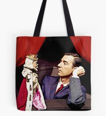 King Friday and Mister Rogers Tote Bag