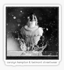 Beautiful Droplet (with creators tagline) Sticker