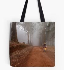 UP CLOSE: THE  BICYCLE MAN AND THE LANTERN Tote Bag
