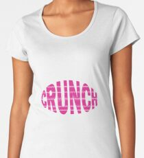 "Crunch Logo - Donna's band from ""Oh Hell, Donna!"" Premium Scoop T-Shirt"