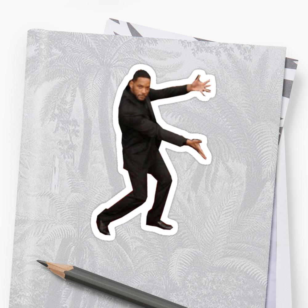Will Smith Meme Stickers By Memestickersco Redbubble