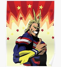 MHA - All Might Poster
