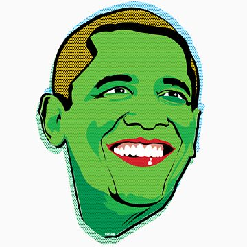 Obama green by thesaint1976