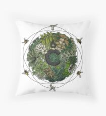 Element of Life Throw Pillow