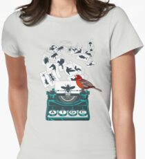 Alphabet of Life Women's Fitted T-Shirt